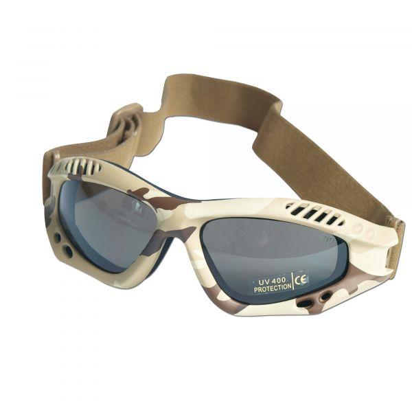 Masque de protection Commando Air-Pro desert smoke