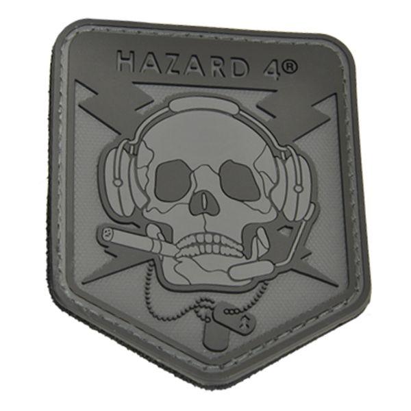 Patch 3D Hazard 4 SpecOp Skull noir