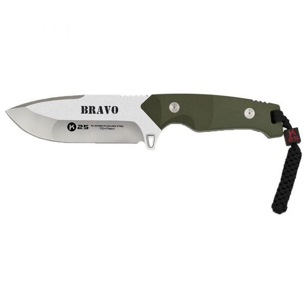 K25 Couteau Bravo 25.5 cm olive