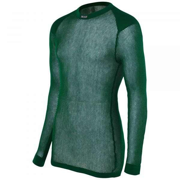 Brynje Super Thermo Maillot avec renforts aux épaules vert