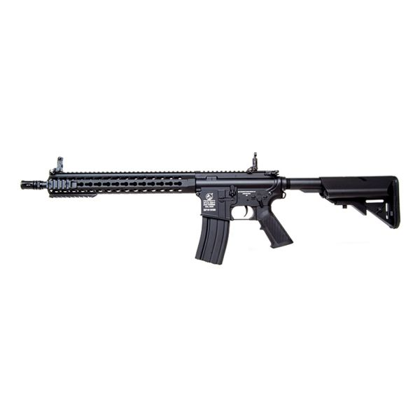 Cybergun Airsoft Colt M4 A1 Keymod Long 1.2 J S-AEG noir