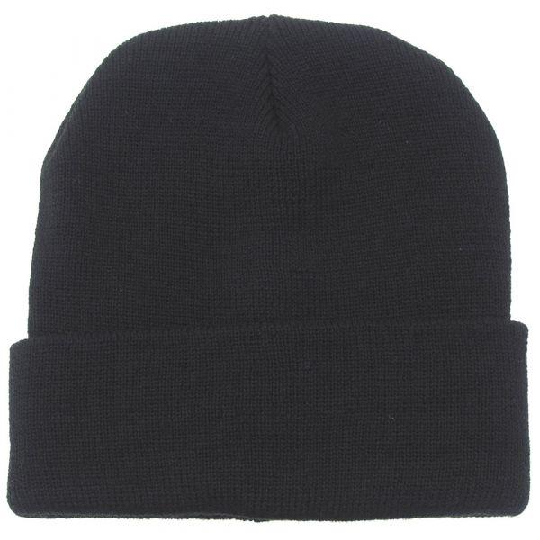MFH Bonnet en laine noir