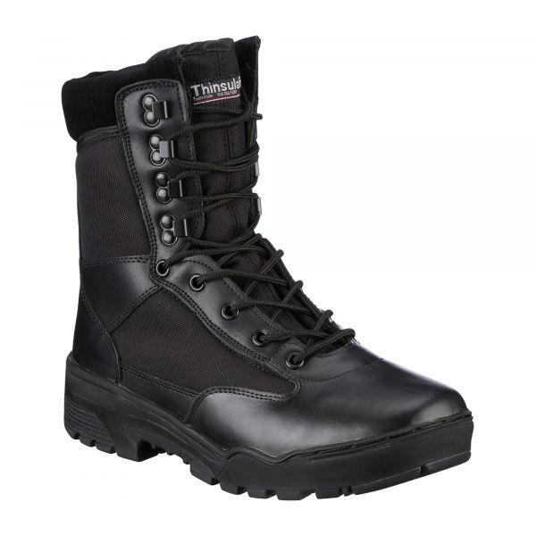 Mil-Tec Bottes Tactical noir