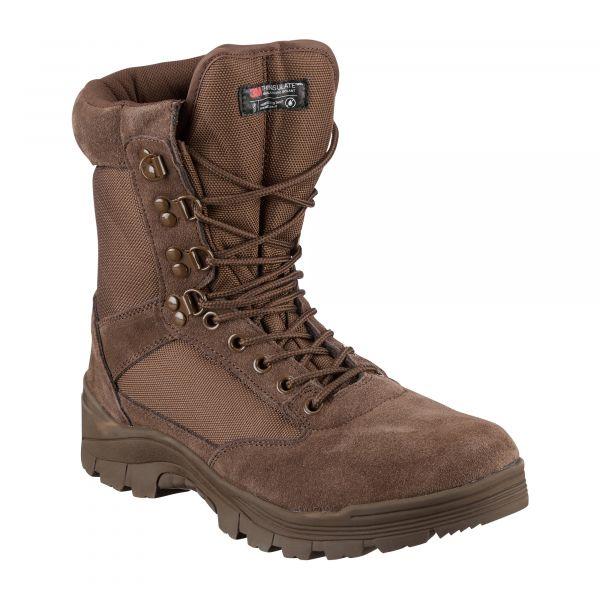 Bottes Tactical Boot brunes