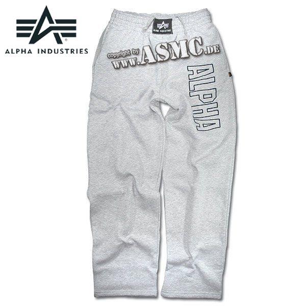 Sweatpants Alpha Track gris