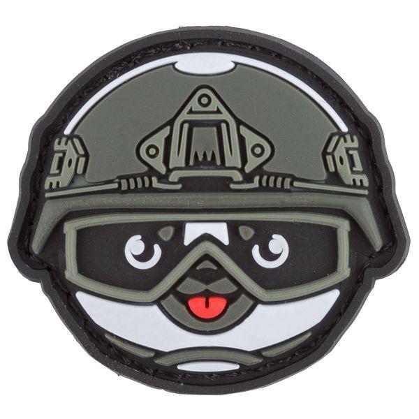 TacOpsGear Patch 3D PVC Tacticons Nr.31 Panda Smiley Emoji