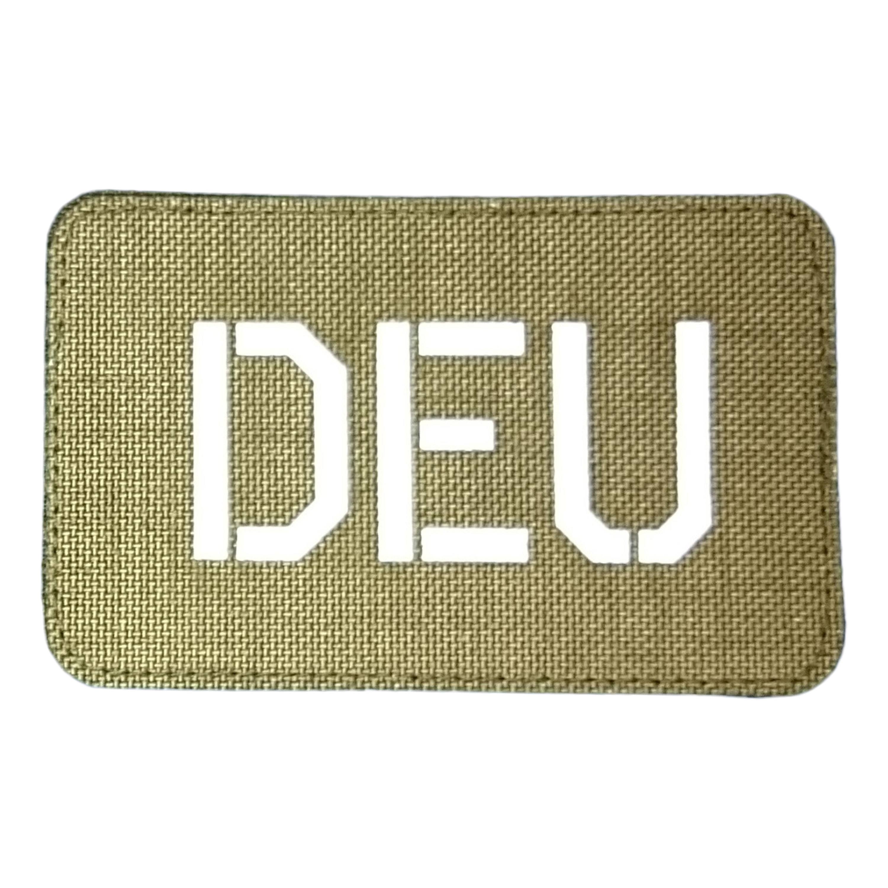 Patch DEU olive luminescent