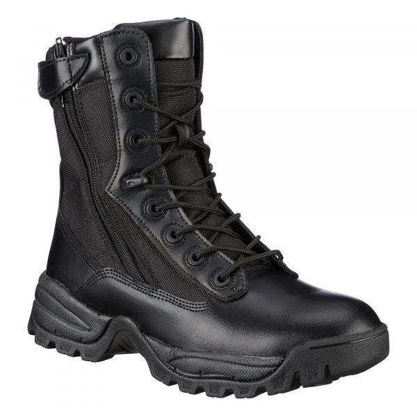 Mil-Tec Bottes Tactical Two-Zip noir