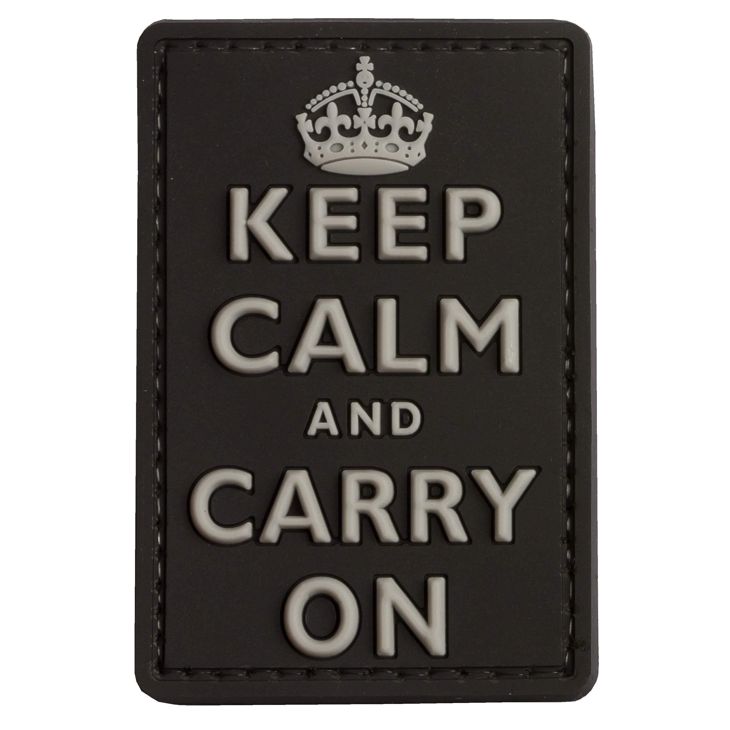 Patch 3D Keep Calm and Carry on TAP swat