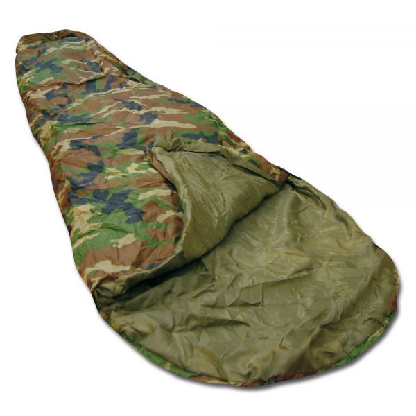Sac de couchage Commando woodland