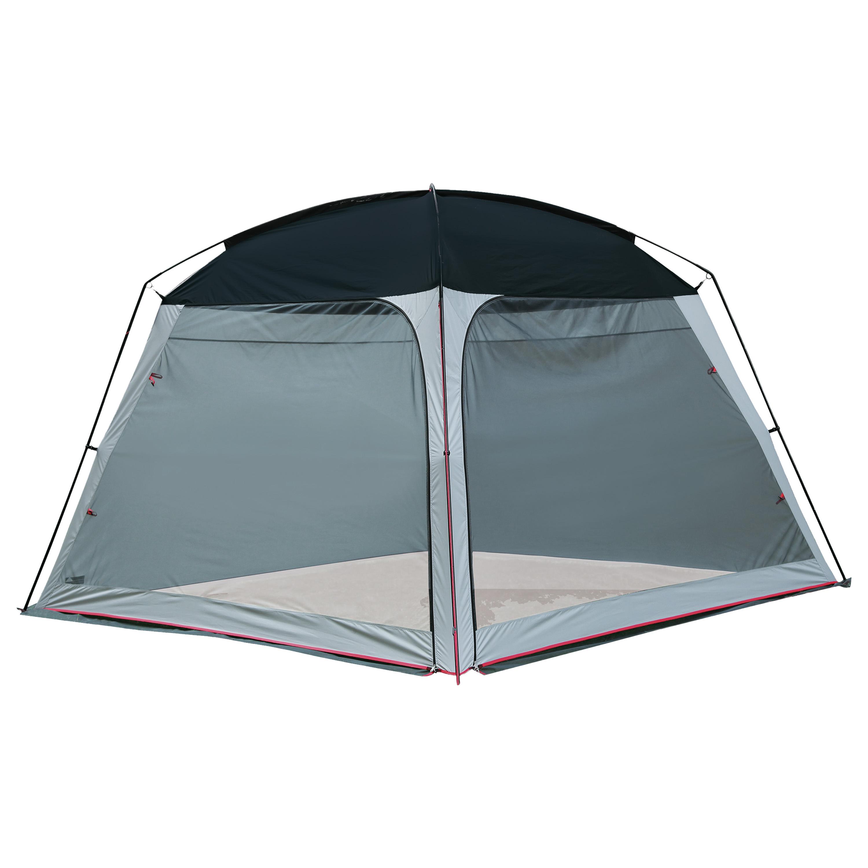 Tente Pavillon High Peak grise-bleue