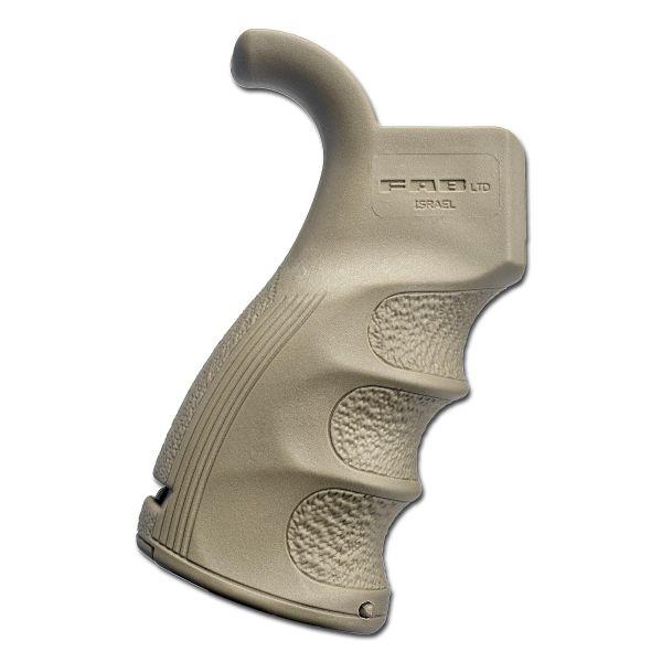 Poignée de pistolet FAB Defense M16 / M4 / AR15 sable
