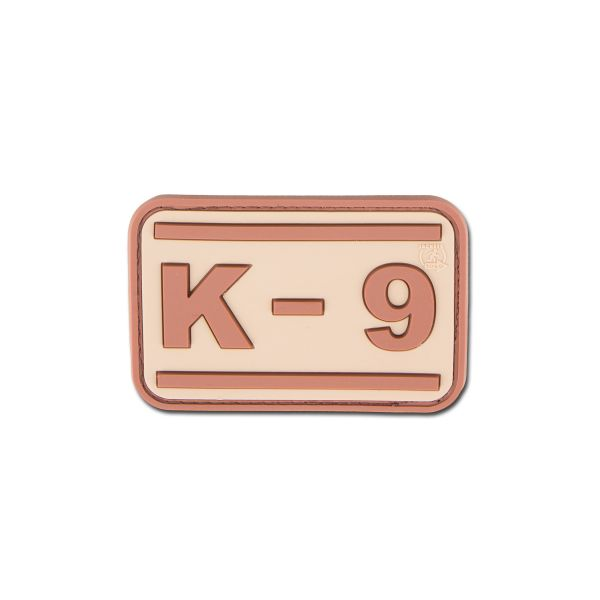 Patch 3D-Patch K-9 desert