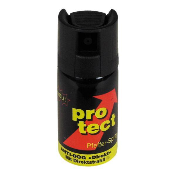 Spray au poivre Protect jet balistique 40 ml