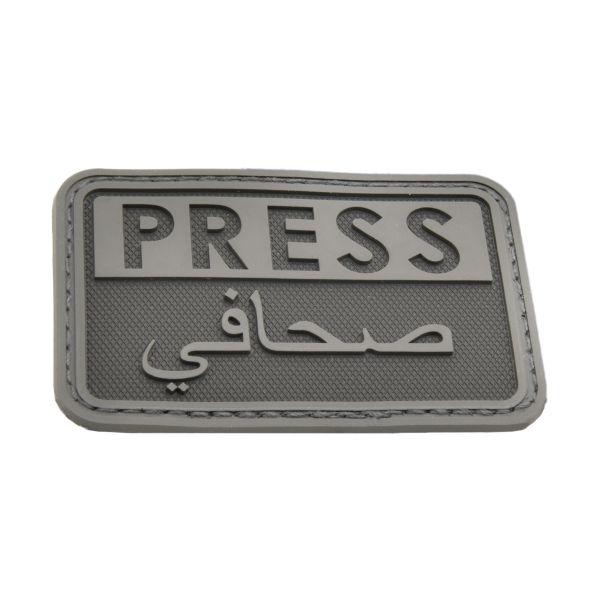 Patch 3D Hazard 4 Press noir