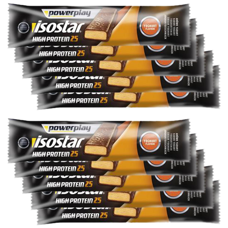 High Protein 25 Powerplay Isostar yaourt&fruits 35 g – 10 barres