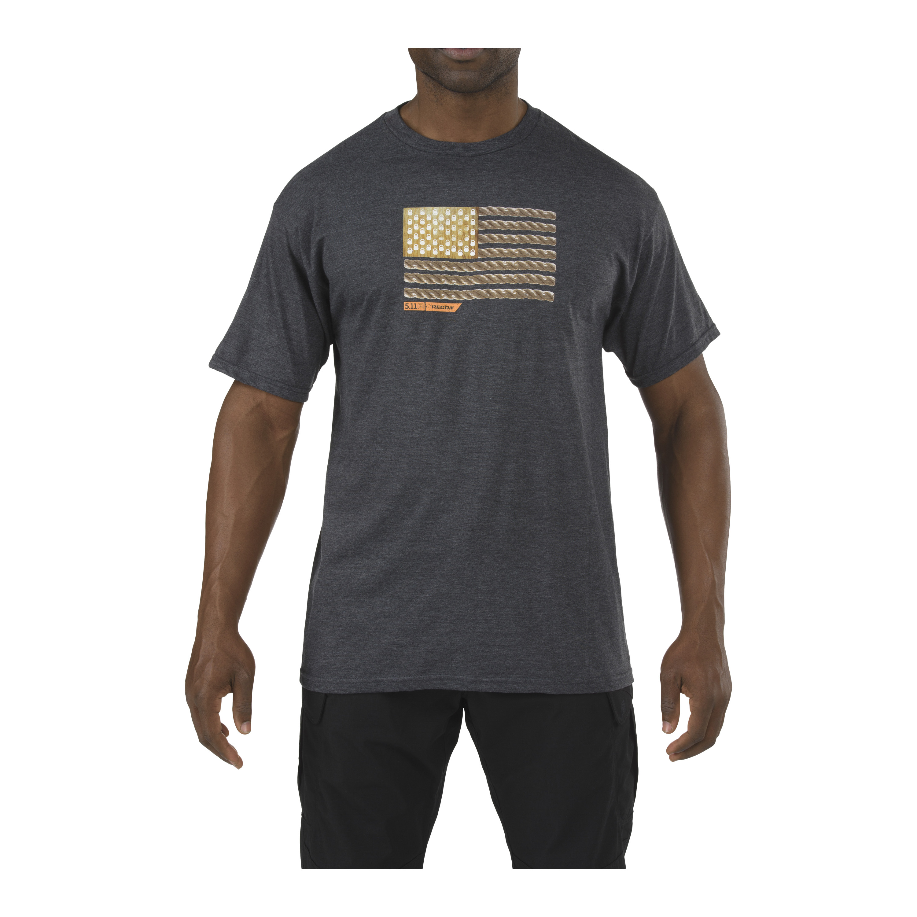 5.11 T-Shirt Recon Rope Ready gris