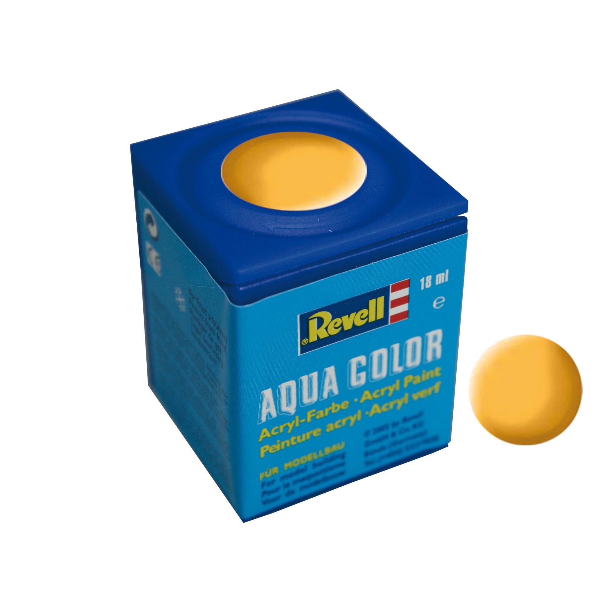 Peinture Revell Aqua Color mat jaune