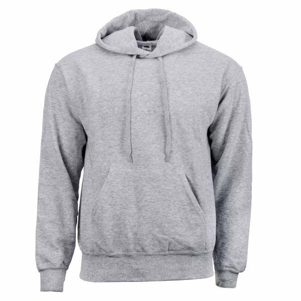 Hood-Sweatshirt gris