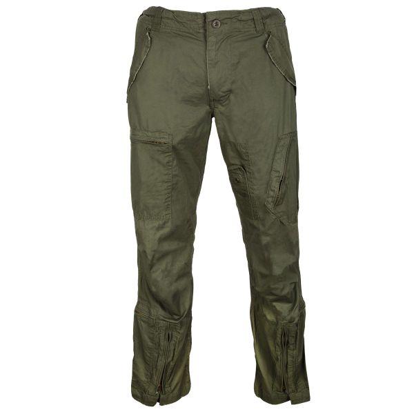 Pantalon pilote Mil-Tec pré-lavé kaki