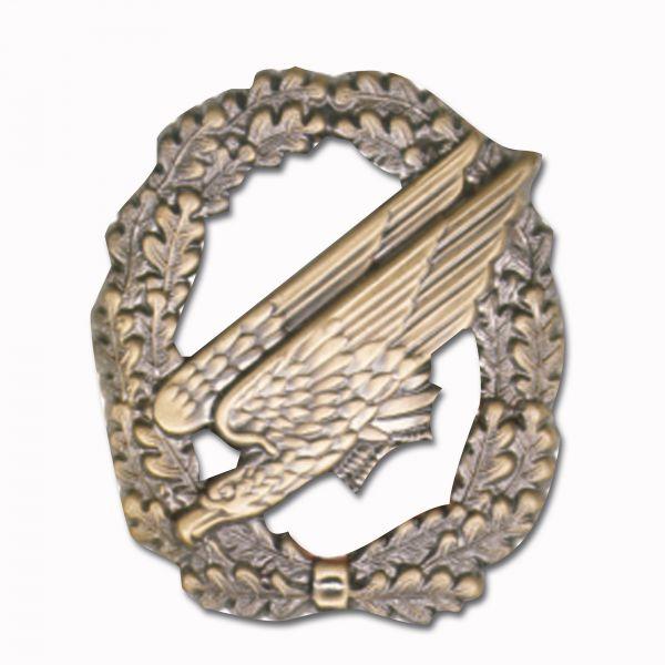 insigne de béret Fallschirmjäger bronze