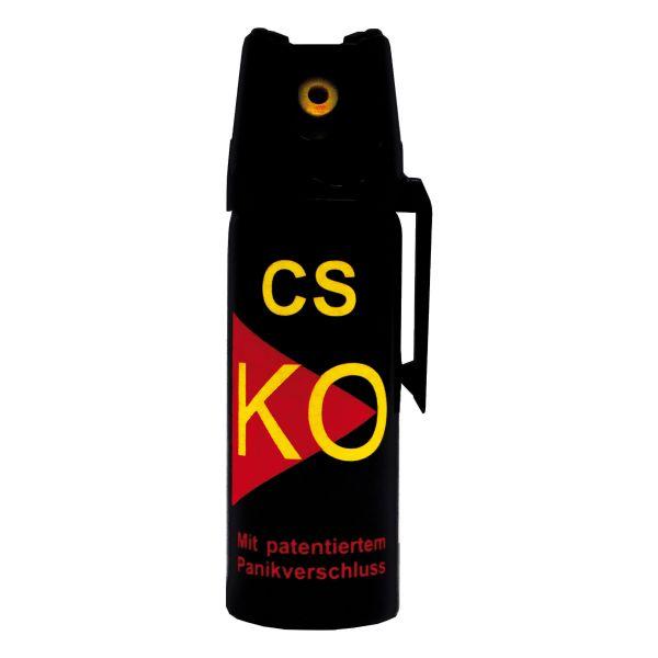 Spray d'auto-défense CS KO 50 ml