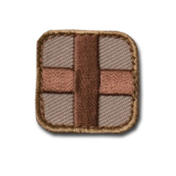 Patch MilSpecMonkey Medic Square 2/5 cm desert