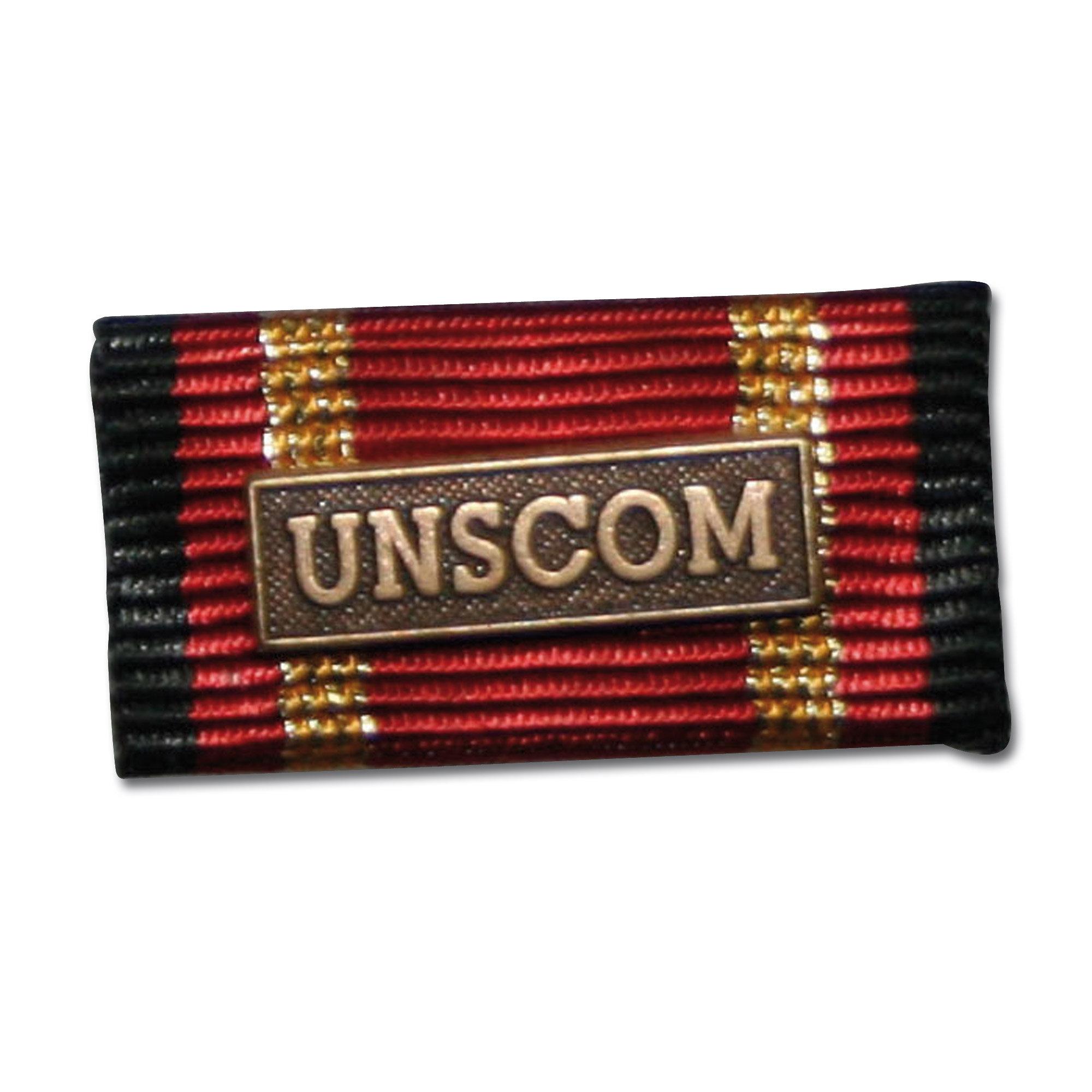 Insigne Agrafe Auslandseinsatz UNSCOM bronze