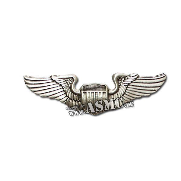 Insigne métallique US Air Force Pilot