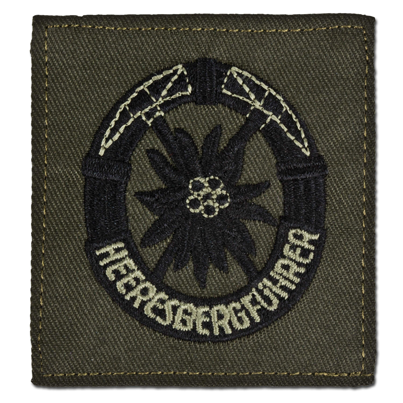 Insigne BW Heeresbergführer kaki/noir