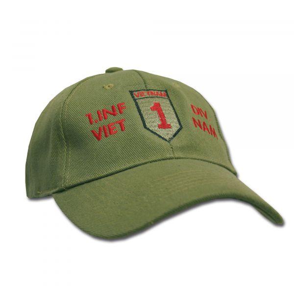 Casquettes Baseball 1.Inf.Div. Vietnam