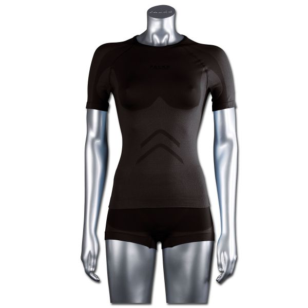 Falke Women Short-Sleeved Shirt Running noir