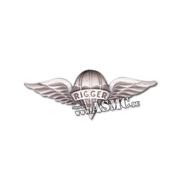 Insigne Métallique US Para Rigger