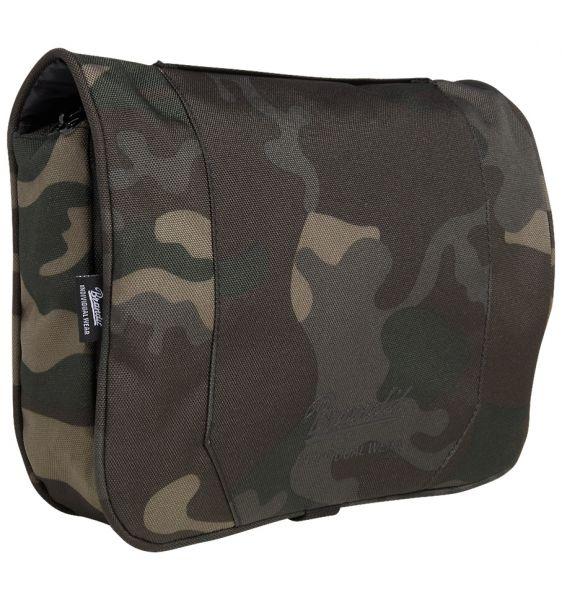 Brandit Trousse de toilette Toiletry Bag large darkcamo