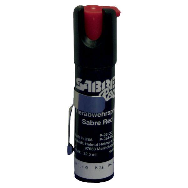 Spray au poivre Sabre Red P-22-OC jet de pulvérisation 22 ml