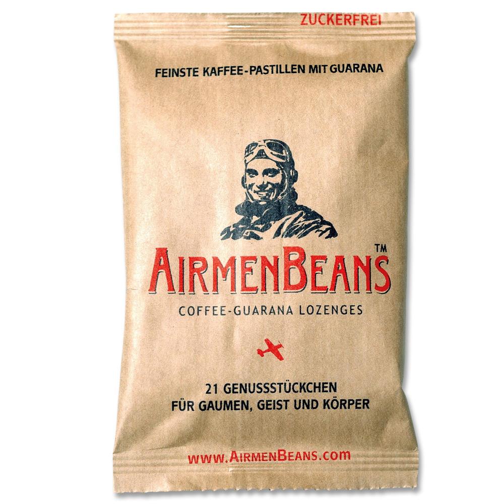 Pastilles Airmenbeans Kaffee-Guarana