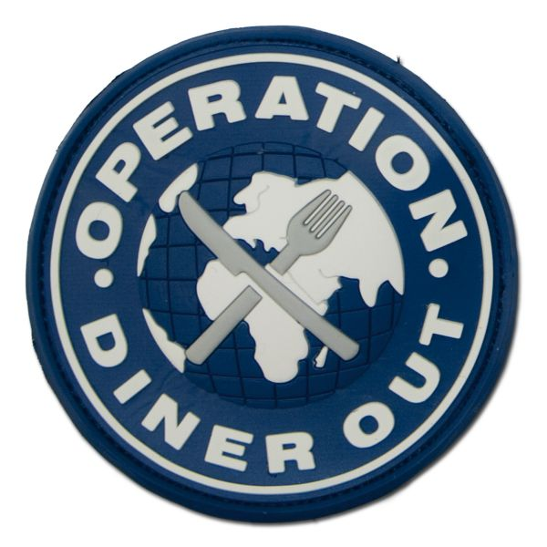Patch 3D Operation Diner Out full color