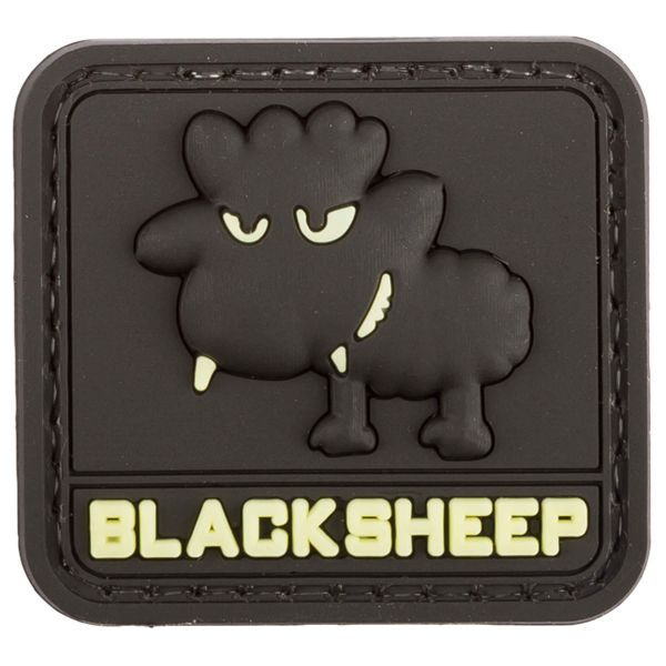 Patch 3D BlackSheep TAP luminescent petit format