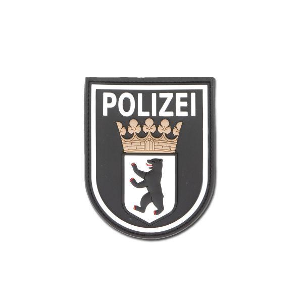 Patch 3D Polizei Berlin noir