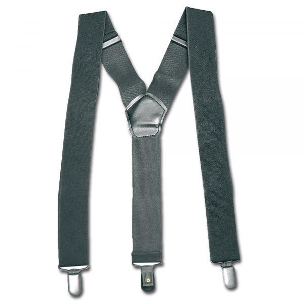 Bretelles avec clip noir