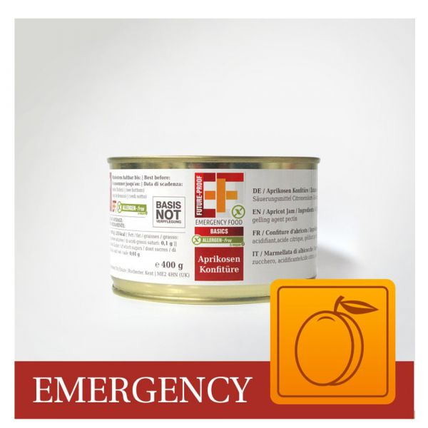 EF Emergency Food Confiture d'abricots