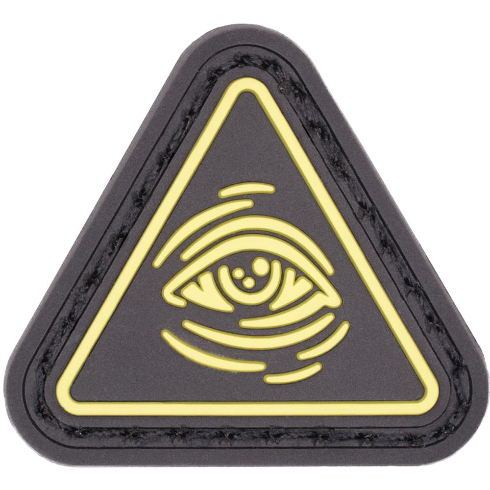 LMSGear Patch Cat Eye All Seeing Eye jaune