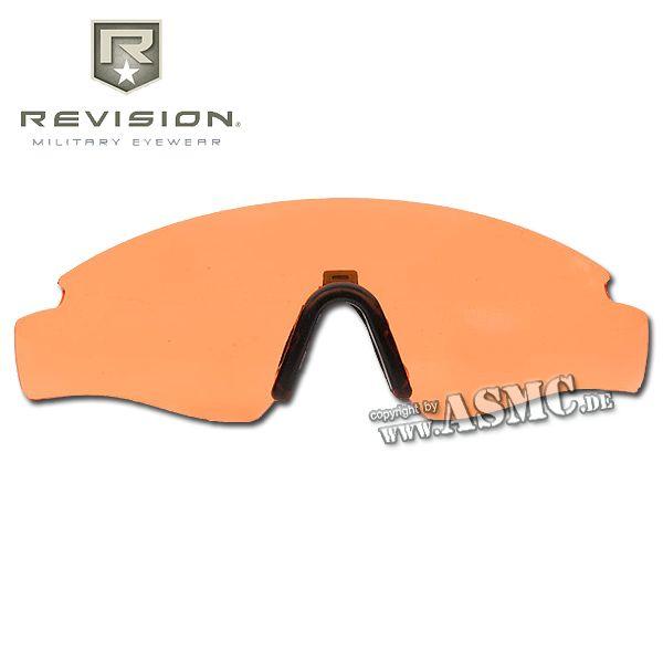 Verre de rechange Revision Sawfly Max-Wrap orange grand