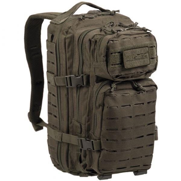 Sac à dos US Assault Pack SM Laser Cut olive