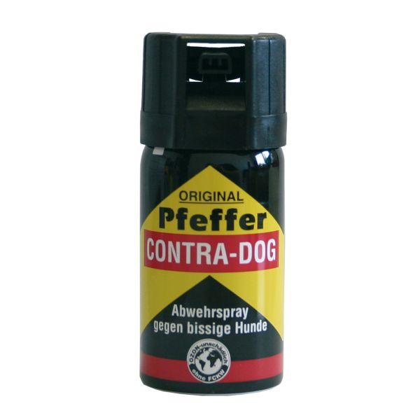 Spray au poivre Contra Dog TW1000 brouillard pulvérisé 40ml