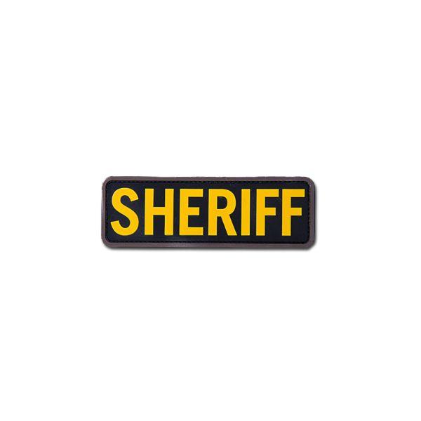 MilSpecMonkey Patch Sheriff 6x2 PVC gold