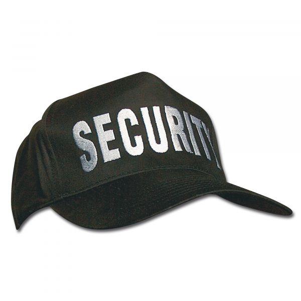 Casquette de base-ball SECURITY noire