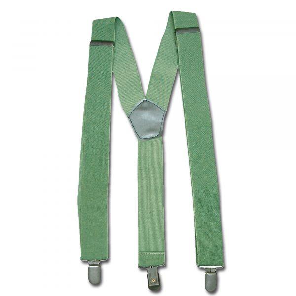 Bretelles avec clip kaki