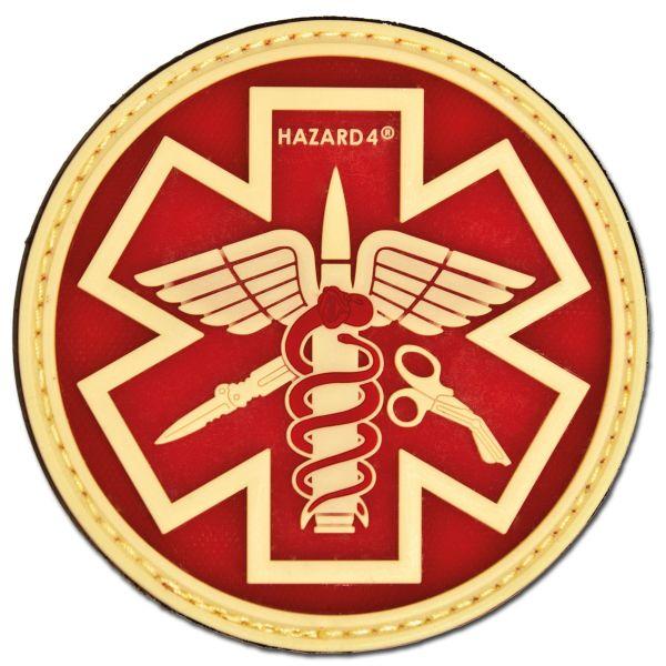 Patch 3D Hazard 4 Paramedic luminescent