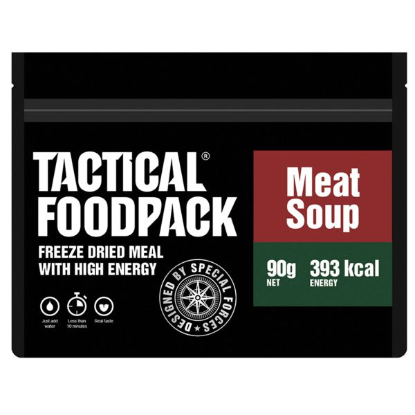 Tactical Foodpack Repas Outdoor Soupe de viande solianka